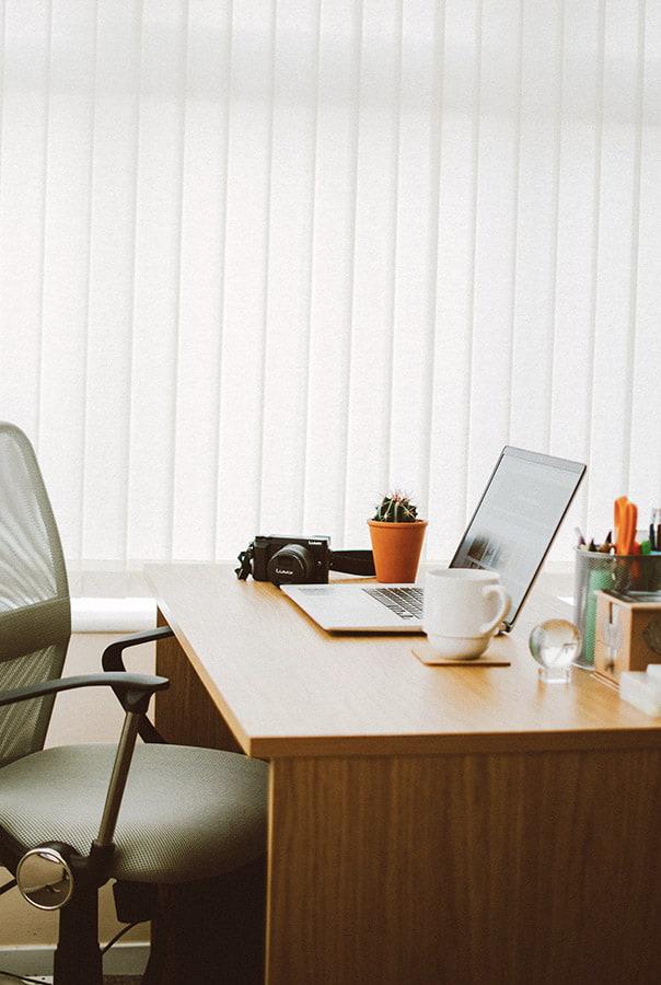 vertical desk